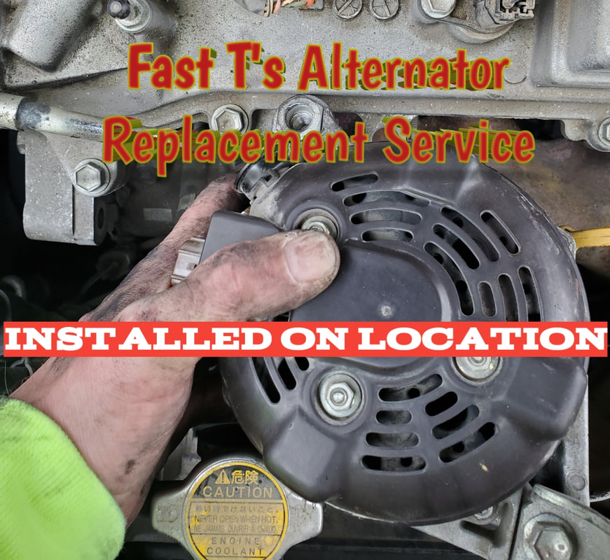 Fast T's Mobile Serpentine Belt Diagnostic & Replacement Service